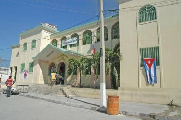 """Hospital """"La Renaissance"""" de Puerto Príncipe. Foto: Archivo."""