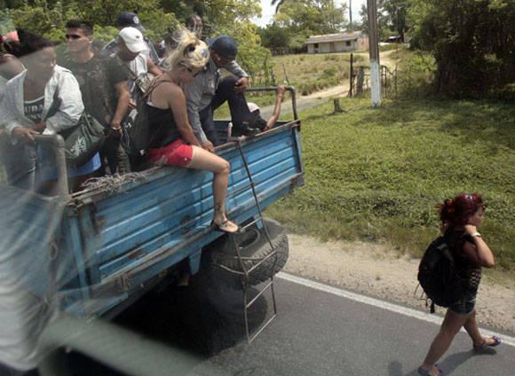 El descenso. Foto: Ismael Francisco/Cubadebate.