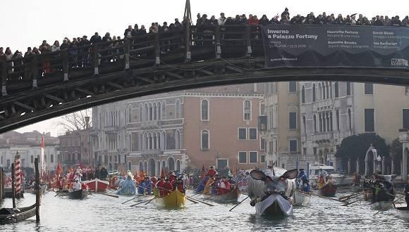 El Carnaval de Venecia es uno de los más antiguos y prestigiosos del mundo. Foto: AP.