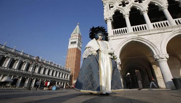 El Festival se declaró como festividad por el Senado de la República de Venecia en 1296, aunque las primeras manifestaciones escritas de su celebración son del año 1094. Foto: AP