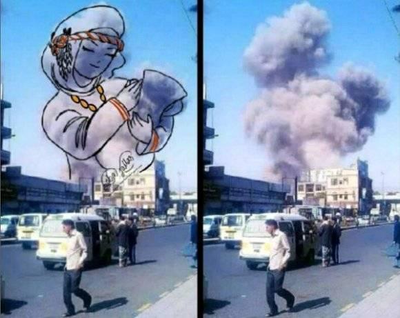 yemen guerra en arte