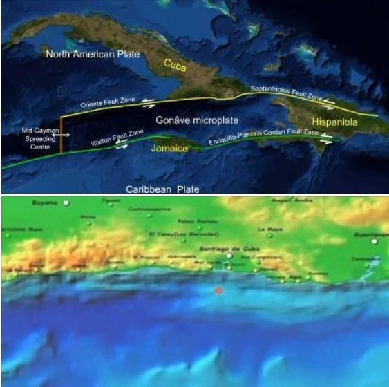 zono sismíca del oriente de cuba