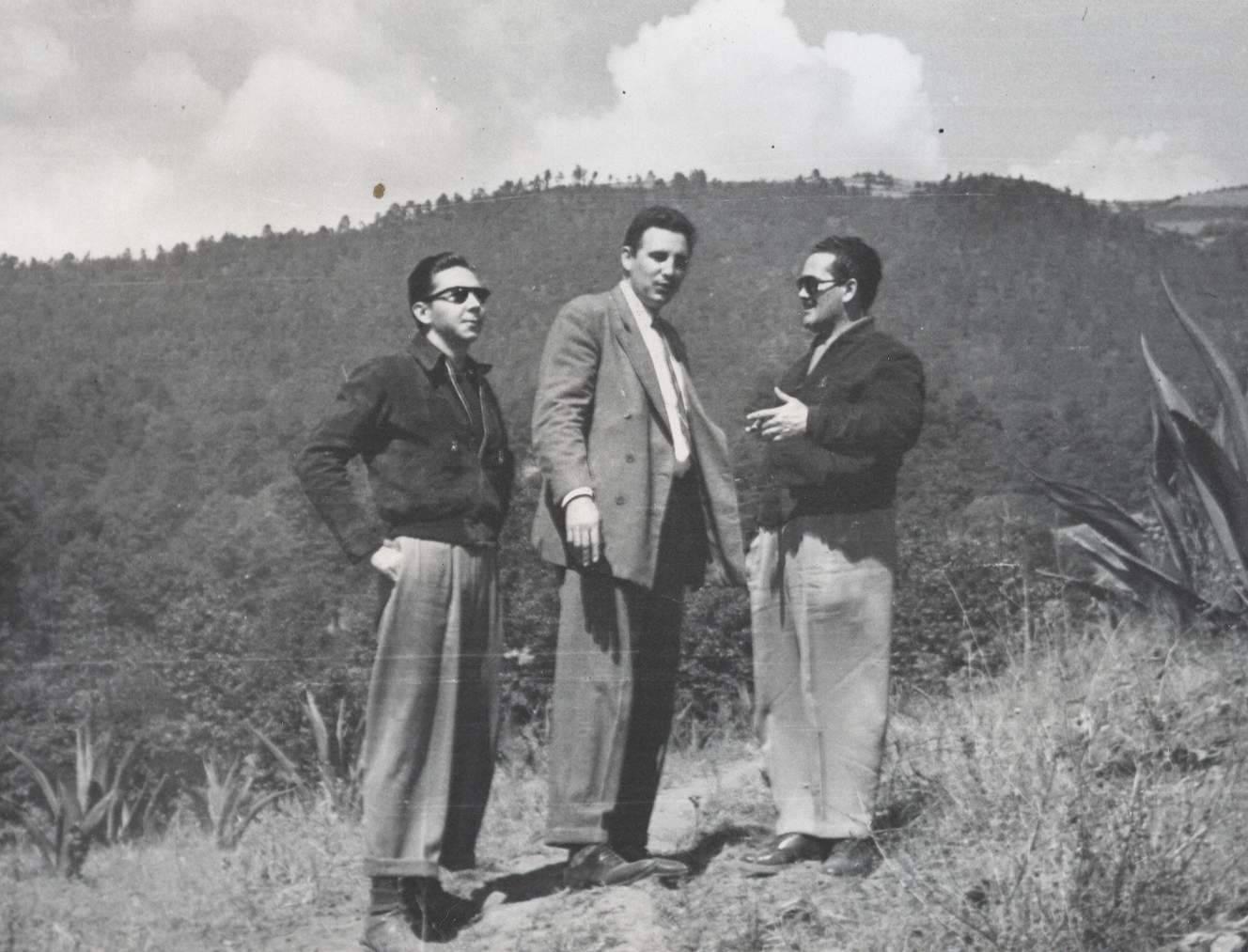 Fidel en México 1956
