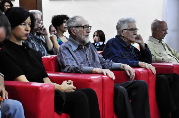 Invitados. Foto. Roberto Garaicoa/Cubadebate.