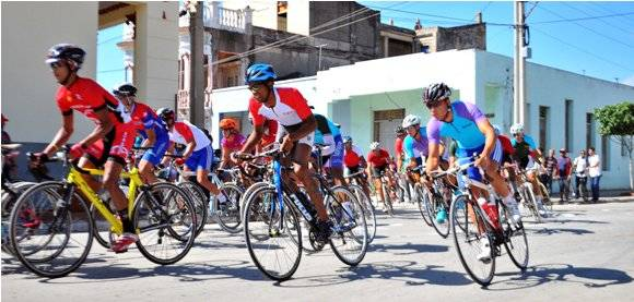 Clásico ciclístico Guantánamo-Pinar-La Habana. Foto: Ricardo López Hevia.