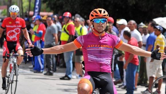 Ganó Félix Nodarse novena etapa de Clásico cubano de Ciclismo