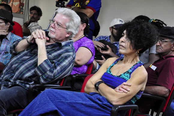 Marina Menéndez, directora de Juventud Rebelde. Foto: Roberto Garaicoa/Cubadebate.