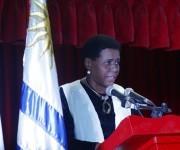 Zuleica Romay, presidenta del instituto del Libro durante la inauguración de la Feria del Libro-2016. Foto: José Raúl Concepción/Cubadebate.