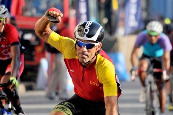 Octava etapa-B  Cienfuegos-Villa Clara. El ganador Jean Carlos Arias. Foto: Ricardo López Hevia/Granma/Cubadebate.