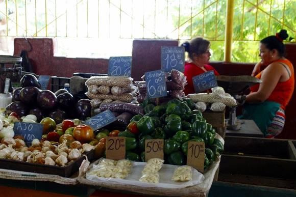 Precios del mes de enero en algunos productos del mercado de 19 y B. Foto: José Raúl Concepción/Cuabdebate. Precios del mes de enero en algunos productos del mercado de 19 y B. Foto: José Raúl Concepción/Cuabdebate.