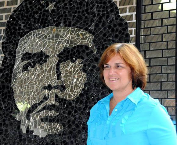 Angelica Pardes, premio Juan Gualberto Gómez de periodismo radial. Foto tomada de su perfil en Facebook.