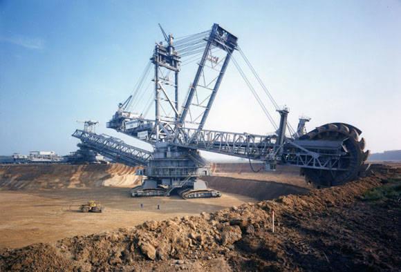 Bagger 288. La excavadora más grande en el mundo. Foto: goodfon.