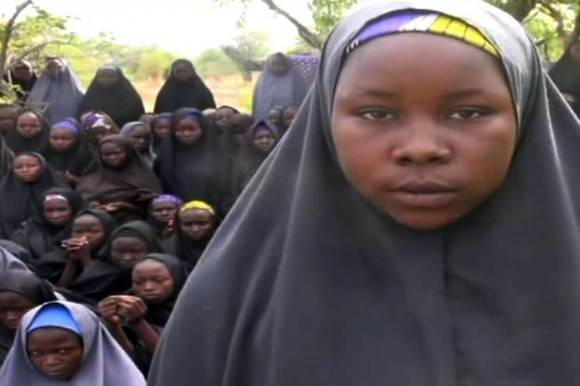 Captura de imagen de un video de Boko Haram.