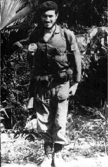 Camilo Torres en la guerrilla.