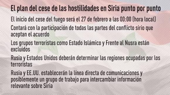 Cese al fuego Siria