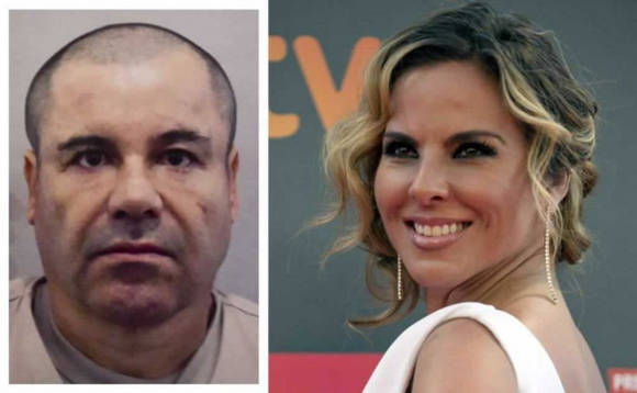 Kate del Castillo declaró que confiaba más en El Chapo que en el gobierno de México. Foto: Reuters.