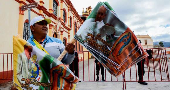 La visita al estado de Chiapas es la más controvertida dentro de la gira de Francisco por México. Foto: Cuartoscuro.
