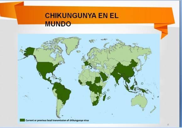 Chikungunya en el mundo