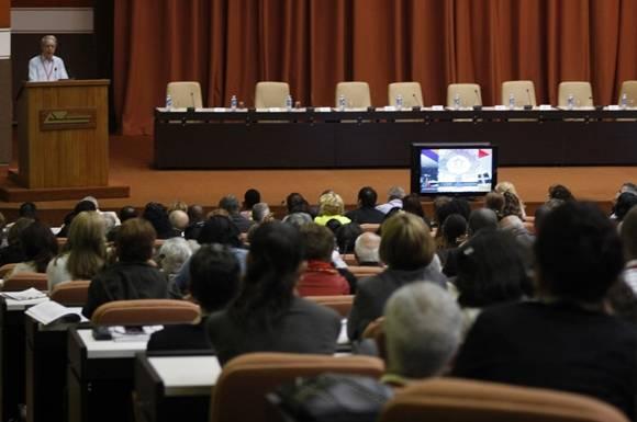 Universidad-2016 termina mañana viernes 19 de febrero. Foto: José Raúl Concepción/Cubadebate.