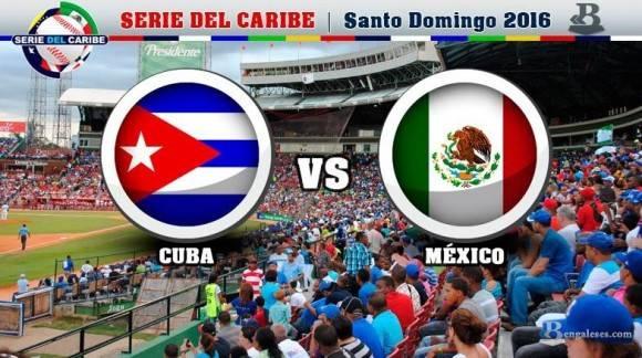 Cuba cae ante México en Serie del Caribe de Béisbol