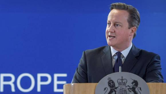 El Primer Ministro británico, David Cameron. Foto tomada de La Vanguardia
