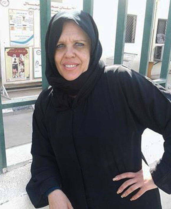 Doctora Doralina, miembro de la brigada médica cubana en Arabia Saudita. Foto: Radio Reloj.