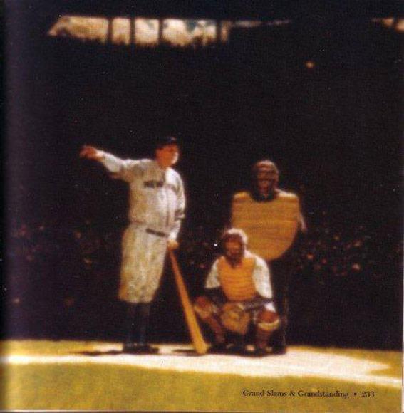 El legendario anuncio de Babe Ruth.