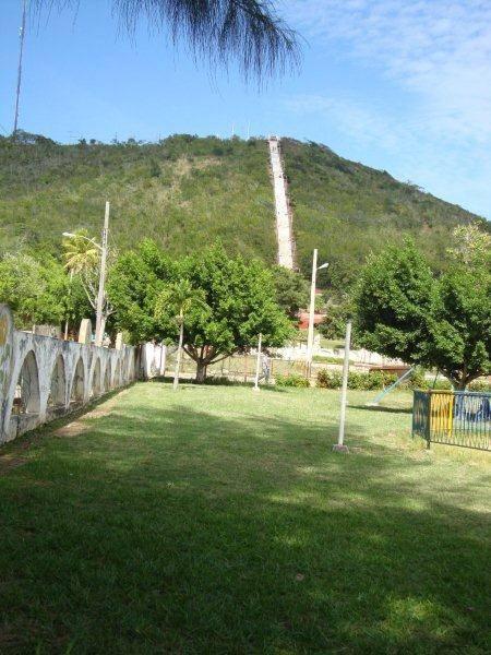 Escalera hacia la Loma de la Cruz, Holguín. Foto:  Baby / Cubadebate