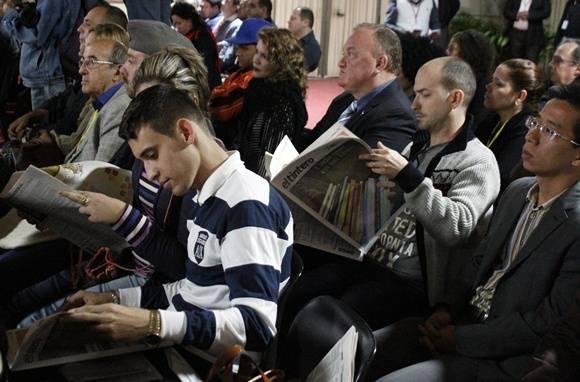 Inauguración de la Feria Internacional del Libro de La Habana. Foto: José Raúl Concepción/Cubadebate.