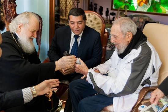 Patriarca Kirill destaca cualidades humanas y políticas de Fidel