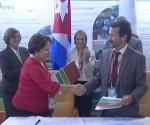Firma Cuba-Francia