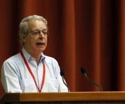 Frei Betto ofreció una amplia conferencia en el Congreso Universidad-2016. en la que se refirió a la formación humanista de los profesionales. Foto: José Raúl Concepción/Cubadebate.