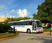 El Instituto Politécnico Máximo Gómez, fundado el 14 de febrero de 2000, fue construido con recursos, equipos y maquinarias donados por Cuba, cuenta con una matrícula estudiantil que alcanza a 365  jóvenes de recursos económicos limitados, está ubicado en la comunidad de Villa Sombrero, Baní, ciudad cabecera de la provincia Peravia, República Dominicana. ACN FOTO/Juan Pablo CARRERAS
