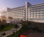 Recreación digital de cómo será el nuevo Hotel internacional de Varadero. Foto: Cortesía Grupo de la Construcción de Varadero.