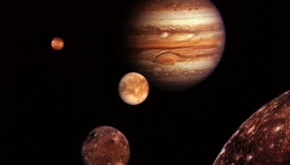 Júpiter visible desde cualquier punto de la Tierra el 8 de marzo
