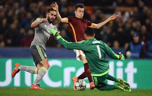 Keylor Navas lleva 630 minutos sin recibir un gol en Champions. Foto tomada de Marca.