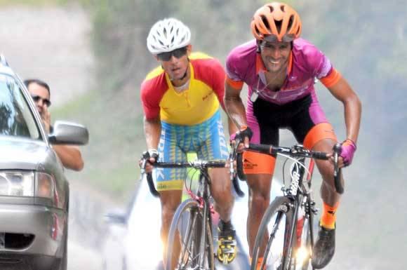 Vicente Sanabria en Tercer Clásico ciclístico. Foto: Ricardo López Hevia.