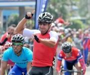 Leandro Marcos, ganador de la última etapa del Clásico ciclístico. Foto: Ricardo López Hevia