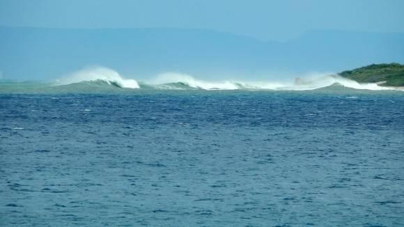 Mar de leva en Gibara, Holguín. Foto: Danier Ernesto González Velázquez / Cubadebate