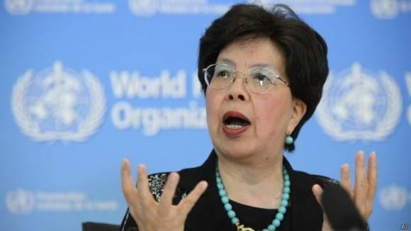 La directora general de la OMS, Margaret Chan. . Foto: AP.