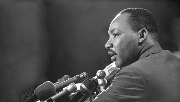 Martin Luther King. Foto: Tomada de comunidadrse.com.ar