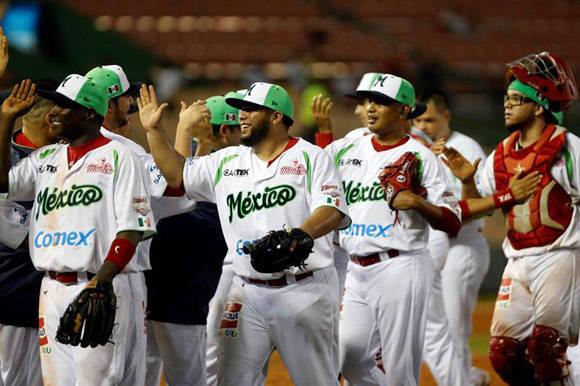 México fue superior a Cuba durante todo el partido. Foto: EFE.