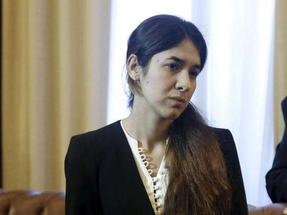 Nadia Murad. Foto: Reuters.