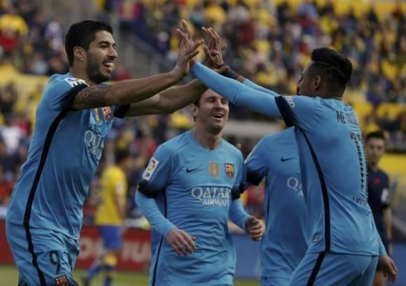 Neymar y Suárez marcaron, pero no fue un buen día para la MSN. Foto: RTRPIX.