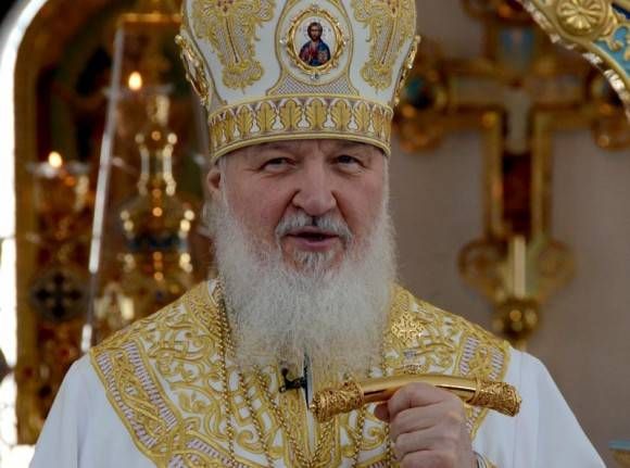 Patriarca Kirill en la Divina Liturgia, La Habana, 14 de febrero de 2016. Foto: Joaquín Hernández Mena / Periódico Trabajadores