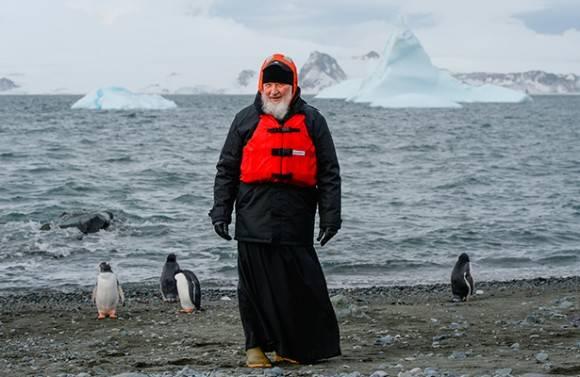 Patriarca Kirill en la Antártida