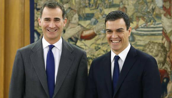 Pedro Sánchez y Felipe