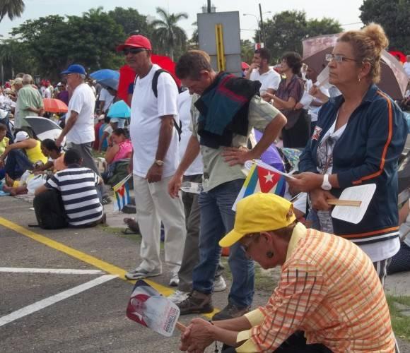 Recen por mi. Foto: Yandry Fernández Perdomo, Facultad de Comunicación UH / Cubadebate