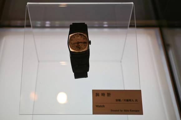 Reloj que pertenecía al japonés Akito Kavagove. Sus manecillas se detuvieron a las 8:15, exactamente a la hora del bombardeo de Hiroshima, en 1945. Foto: tumblr.