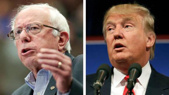 Sanders y Trump ganaron las primarias de New Hampshire